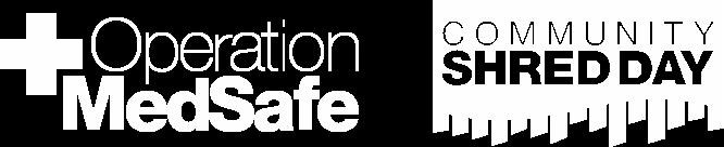 Operation MedSafe and Shred Day Logos
