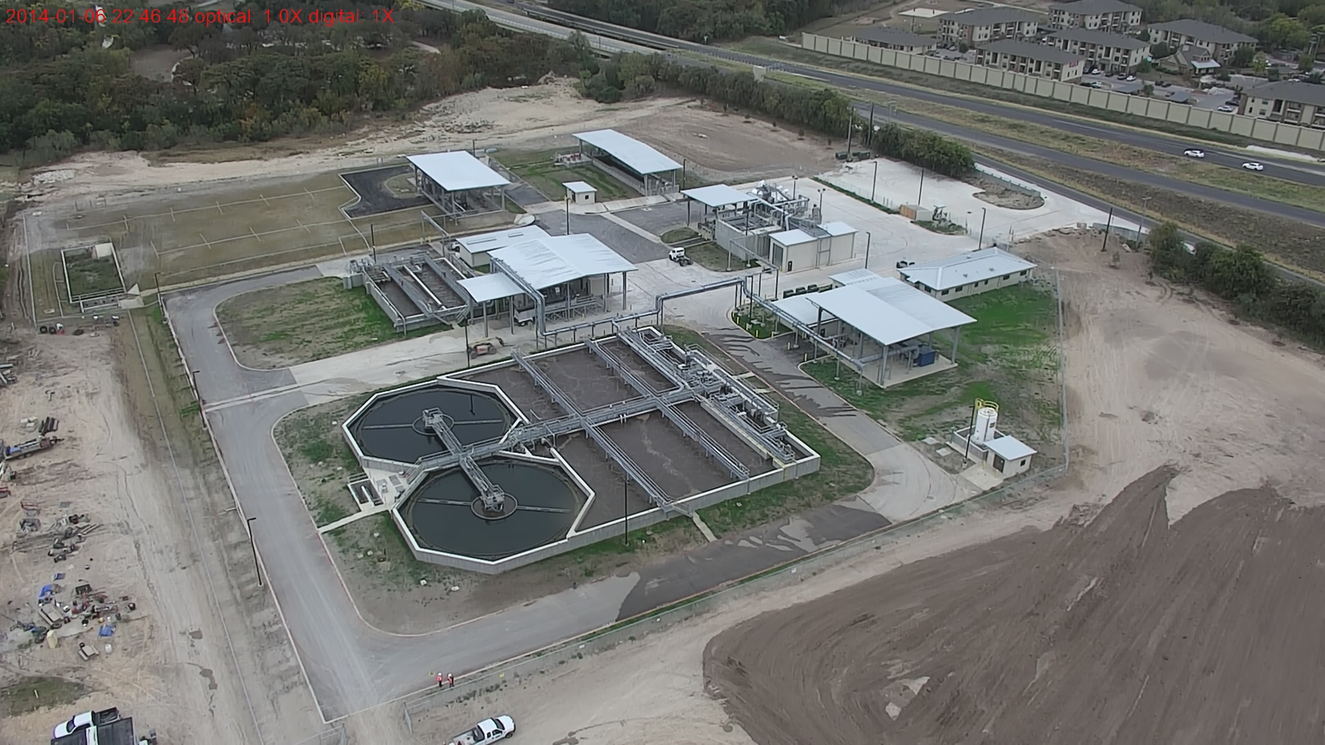 Take a tour of the new Gruene Water Reclamation Facility.